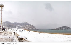 180228-24 PLAYA DE ONDARRETA NEVADO copia
