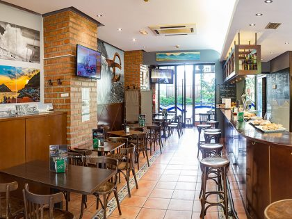 Urgain café-bar, Mi lugar de exposición permanente.